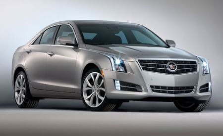 Cadillac Prices 2013 ATS Sedan From $33,990; Top-Spec V-6 Model Rings in at $42,090