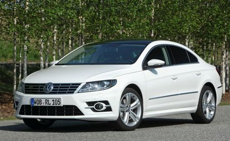 Volkswagen Reveals Sporty-Looking R-Line Trim Level for Updated 2013 CC Sedan