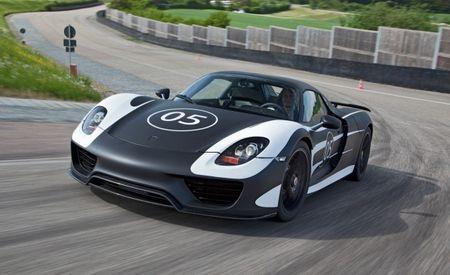 Porsche Releases Photos of a 918 Spyder Prototype