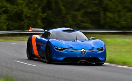 Renault Alpine A110-50 Concept: The Re-Birth of a Legend