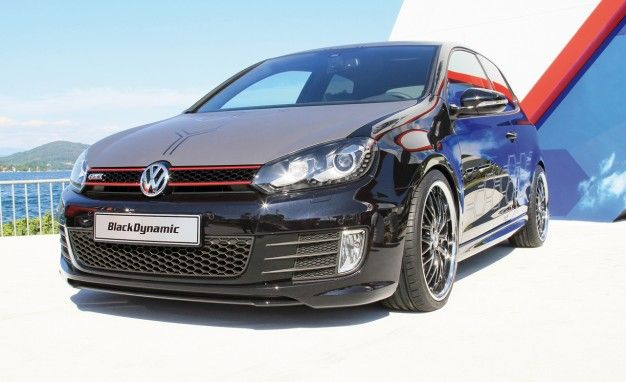 Volkswagen Apprentices Build 360-hp Golf GTI Black Dynamic for Wörthersee Festival