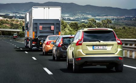 Volvo Completes First Successful Test of Road Train Technology on Public Roads in Spain