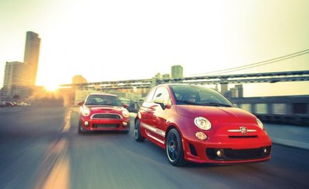 <em>C/D</em> Video: Fiat 500 Abarth and Mini JCW Battle for Pipsqueak Supremacy