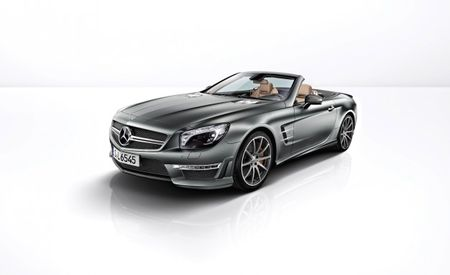 2013 Mercedes-Benz SL65 AMG 45th Anniversary Edition Celebrates AMG with Matte Carbon Fiber and Paint