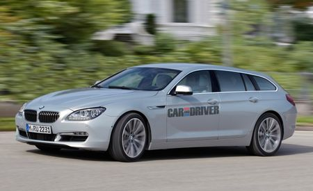 Long-Roof Gran Coupe: BMW 6-series Wagon Rendered