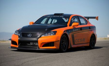 Lexus IS F CCS-R Race Car to Tackle Pikes Peak