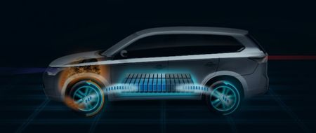 Mitsubishi Plans a Plug-In Hybrid Outlander for September's Paris Auto Show