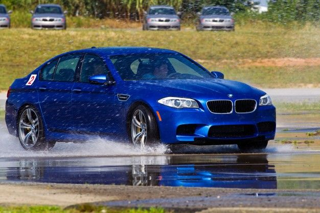 BMW M School: Learning How to Go Fast in German