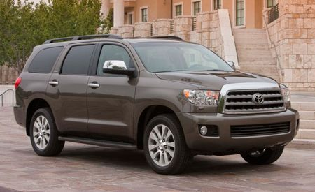 Toyota Dropping Base 4.6-Liter V8 from 2013 Sequoia Lineup; 5.7-Liter V8 Remains