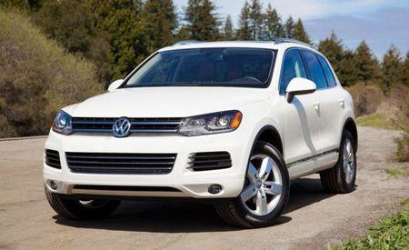 2013 Volkswagen Touareg TDI 3.0-Liter Diesel Gets Power Bump to 240 hp