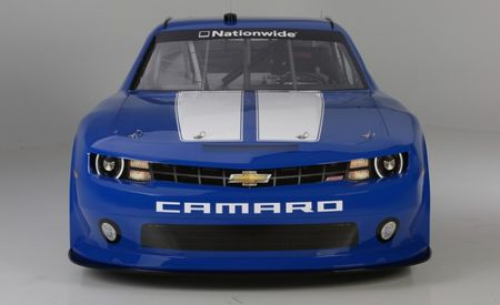 Chevrolet Reveals 2013 Camaro NASCAR Nationwide Race Car