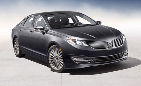 2013 Lincoln MKZ Priced from $36,800; Hybrid Model Won't Cost Extra