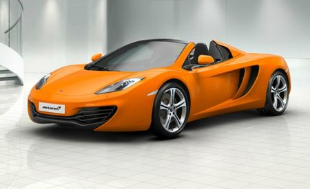 McLaren Launches In-Depth MP4-12C Configurator [Photo Gallery]