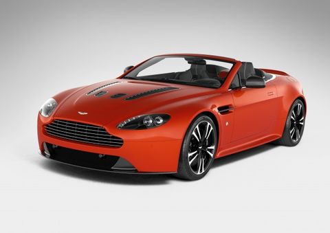 2013 Aston Martin V12 Vantage Roadster Tearing The Roof Off 101 Of