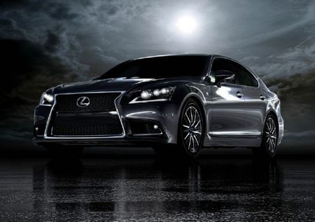 Lexus Can't Contain Excitement, Reveals 2013 LS F Sport