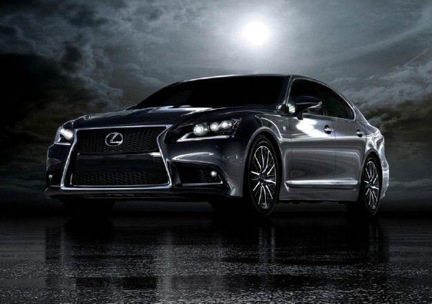 Lexus Can't Contain Excitement, Reveals 2013 LS F Sport