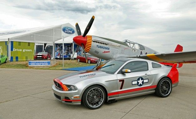 Ford Creates Tuskegee Airmen–inspired Red Tails Edition Mustang GT