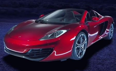 2013 McLaren MP4-12C Spider Drops Its Top for the Camera [Video]
