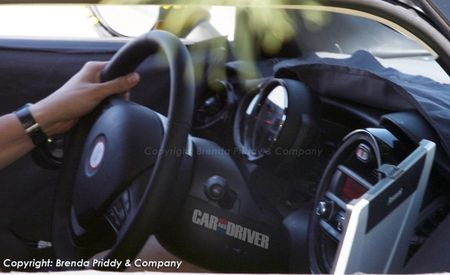 2014 Mini Cooper Interior Spied: Center Speedo Gone, But Not Forgotten