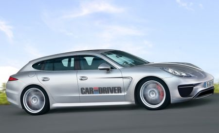 Porsche Contemplating Offering Its Wagon-Like Panamera As a Station Wagon