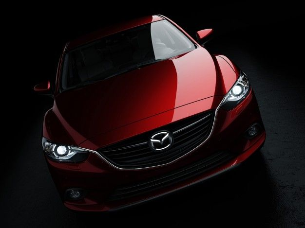 2014 Mazda 6 Front End Leaked, Looks a Little Pissed About It