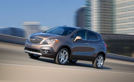 Buick Announces 2013 Encore Compact Crossover EPA-Rated for Up to 33 mpg