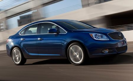 2013 Buick Verano Turbo to Start at $29,990; Manual a No-Cost Option