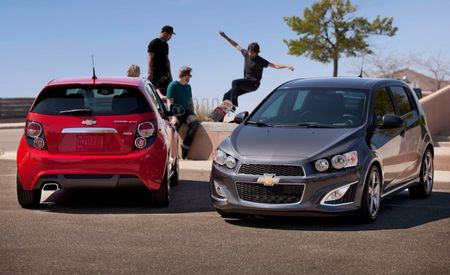 Chevrolet Prices Sporty 2013 Sonic RS from $20,995 With Six-Speed Manual