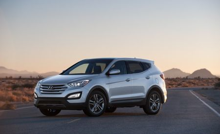 Hyundai Prices Standard-Wheelbase 2013 Santa Fe Sport from $25,275