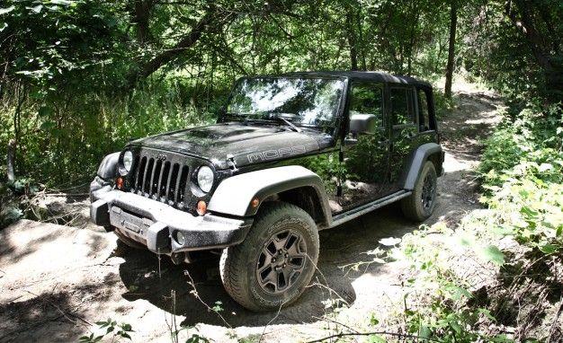 2013 Jeep Wrangler Moab Edition: The 'Tweener of the Wrangler Lineup