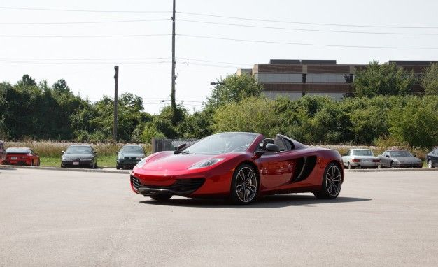 Our Date With a McLaren MP4-12C Spider