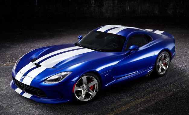 SRT Viper GTS Launch Edition Revives the Blue and White Viper [2012 Pebble Beach]
