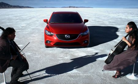 2014 Mazda 6 In Motion; Goes Nicely with Cellists Covering The Kinks