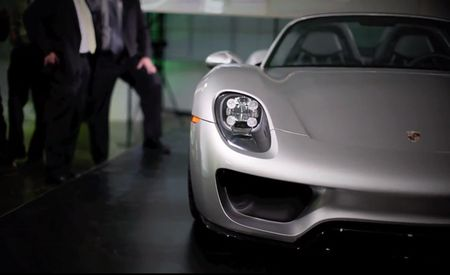 Production-Spec Porsche 918 Spyder Revealed at Private Showing [Video]