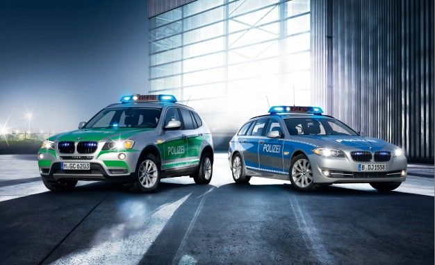 BMW's Latest Array of Police and Bombproof Vehicles