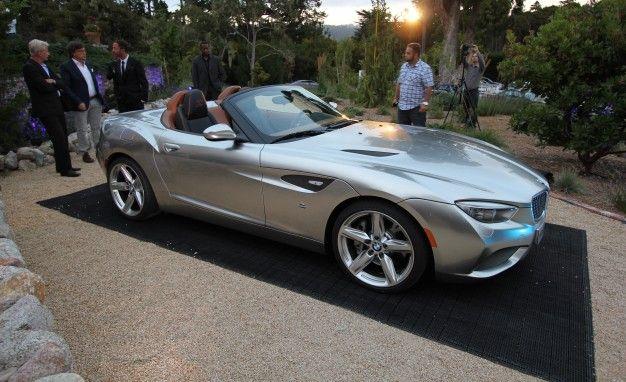 BMW Zagato Roadster: The Much-More-Attractive Z4 [2012 Pebble Beach]