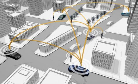 Consortium of Automakers Announces Real-World Car-to-X Communication-Tech Test