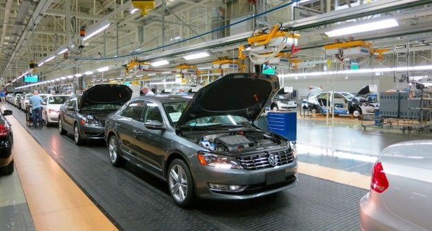 Tennessee passat factory to be a blueprint for most future vw plants malvernweather Image collections
