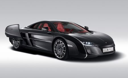 McLaren's Bizarre X-1 Concept Shows It'll Build ANY Commissioned Car [2012 Pebble Beach]