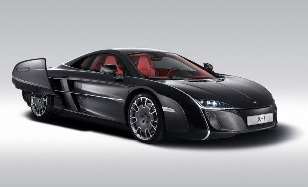 McLaren's Bizarre X-1 Concept Shows It'll Build ANY Commissioned Car [2012 Pebble Beach]
