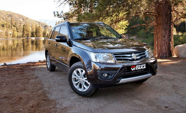 Suzuki Reveals Euro-spec 2013 Grand Vitara; U.S. Version to Get Similar Changes