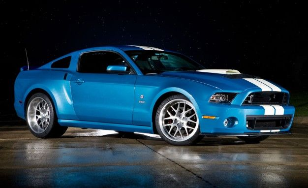 Ford, Shelby Pay Tribute to Carroll Shelby with 850-hp GT500 [2012 ...