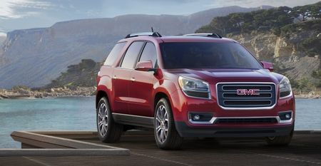 2013 GMC Acadia to Start at $34,875, Denali Model at $46,770