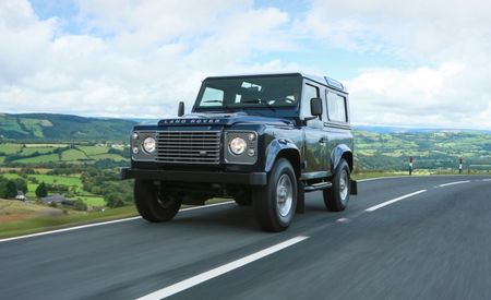 Land Rover Ultra-Mildly Updates Defender for 2013; Still Not Available in U.S. [Photo Gallery]