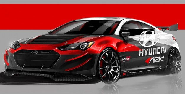 ARK Performance Tunes The Hyundai Genesis Coupe R Spec For The 2012 SEMA  Show