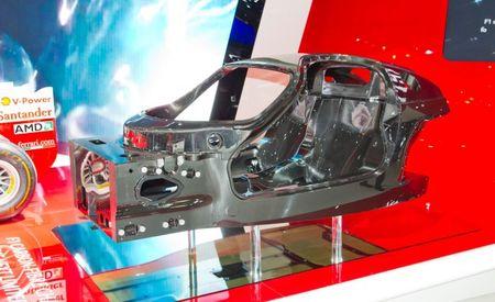 Ferrari Debuts Carbon-Fiber Tub for Enzo Replacement, We Go In-Depth [2012 Paris Auto Show]