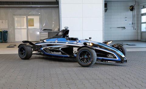 1 0 Liter Turbo Three Powered Formula Ford Racer Laps Nurburgring