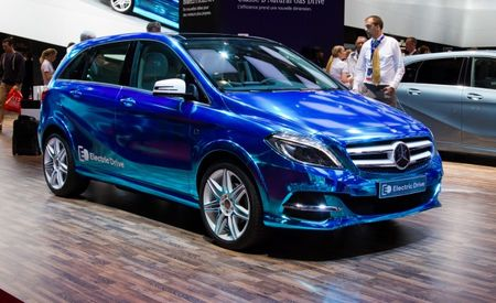 Mercedes-Benz B-class Electric Drive Concept: The Benz with an American-Sourced Electric Powertrain [2012 Paris Auto Show]