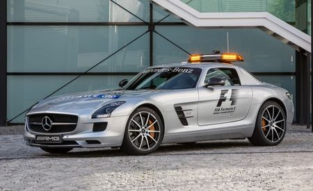 Mercedes-AMG Debuts SLS AMG GT Formula 1 Safety Car in Spa