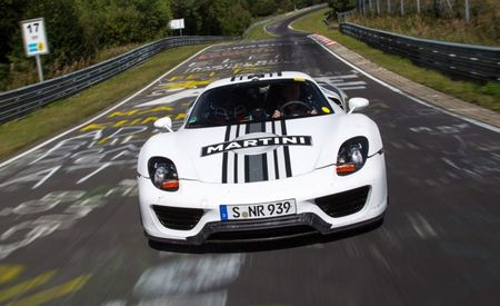Um, Wow: Porsche 918 Laps Nürburgring Nordschleife in 7 Minutes, 14 Seconds